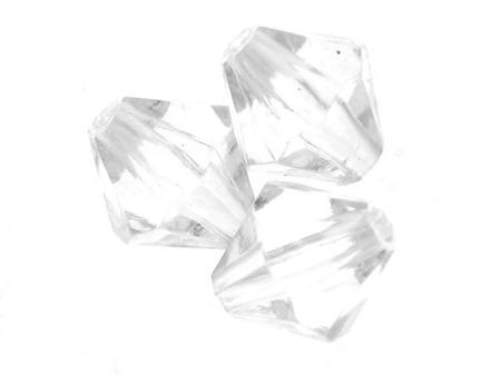 Kryształki Akrylowe Szlifowane Lodowe Diamentowane Crystal 8mm 1szt