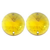 Kryształki Akrylowe Szlifowane Lodowe Rivoli Crystal Ab 14mm 1szt
