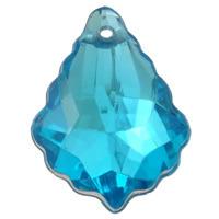 Kryształki Szlifowane Akrylowe Lodowe Barok Crystal Silver 22x15mm 1szt