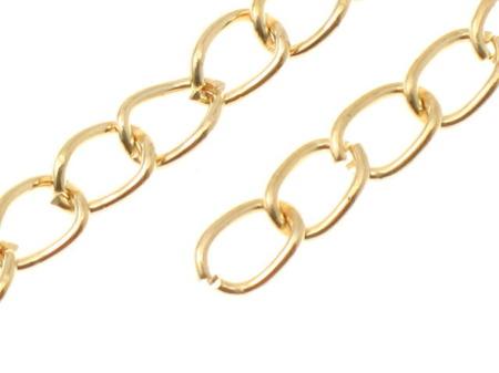 Łańcuszek Regulacyjny Przedłużka Bardzo Mocny Złoty KC Gold 60mm 1szt