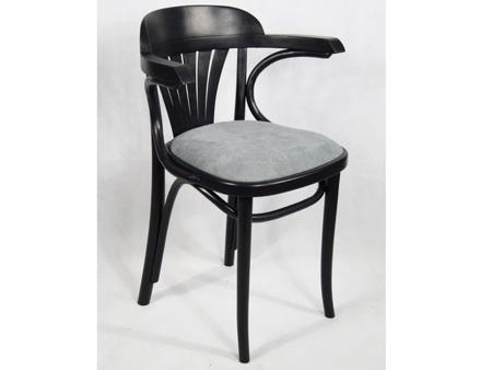 Unikatowe Krzesło Fotel Drewniany Gięty Fabryka Mebli Giętych Vintage