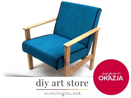 Unikatowy Fotel Lata 60/70-te Vintage Skandynawski