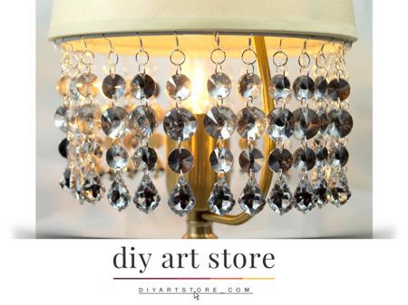 Zawieszka Kryształki na Abażur Żyrandol Lampę Crystal 11cm 1szt